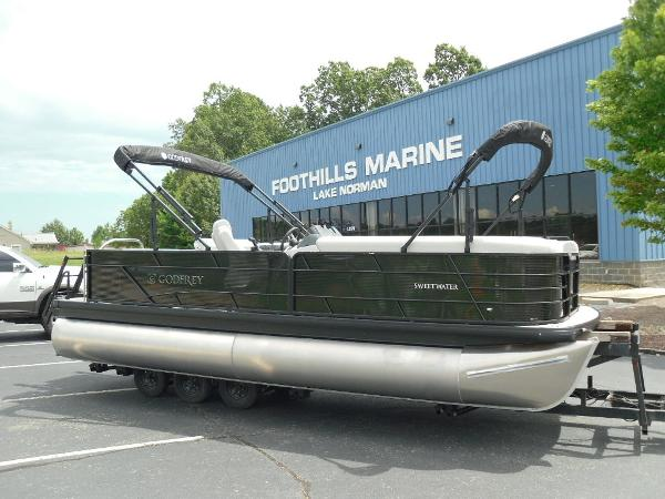 2021 Godfrey Pontoon boat for sale, model of the boat is SW 2286 SFL GTP 27 in. & Image # 1 of 43