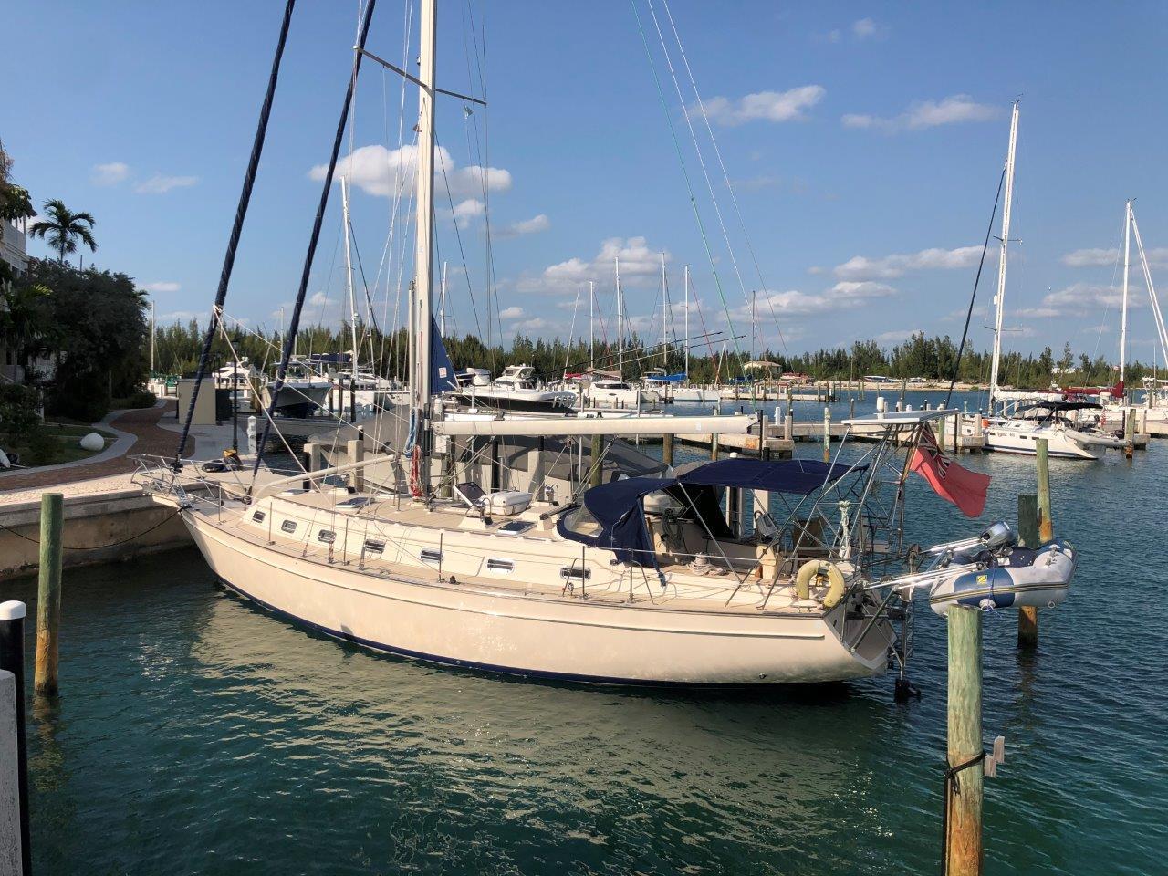 In-mast furling mainsail