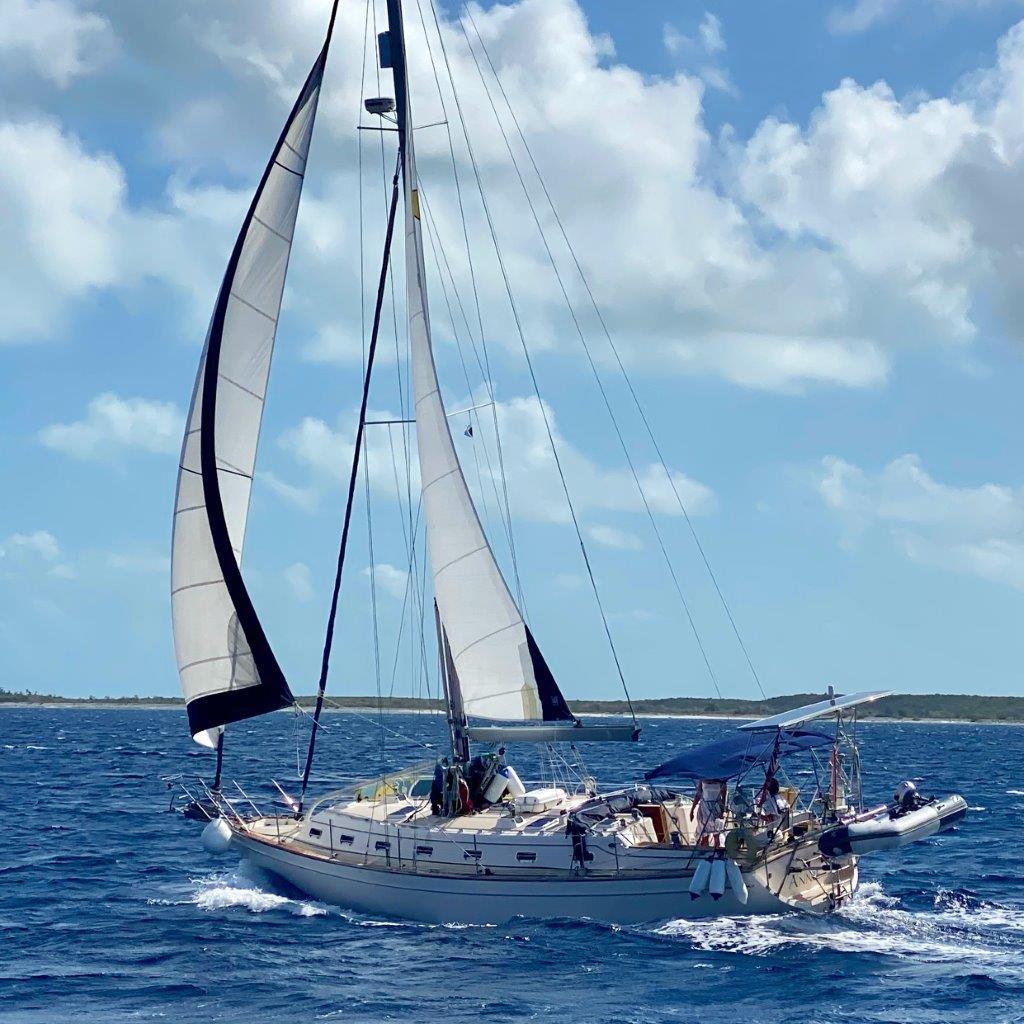 Annie sailing
