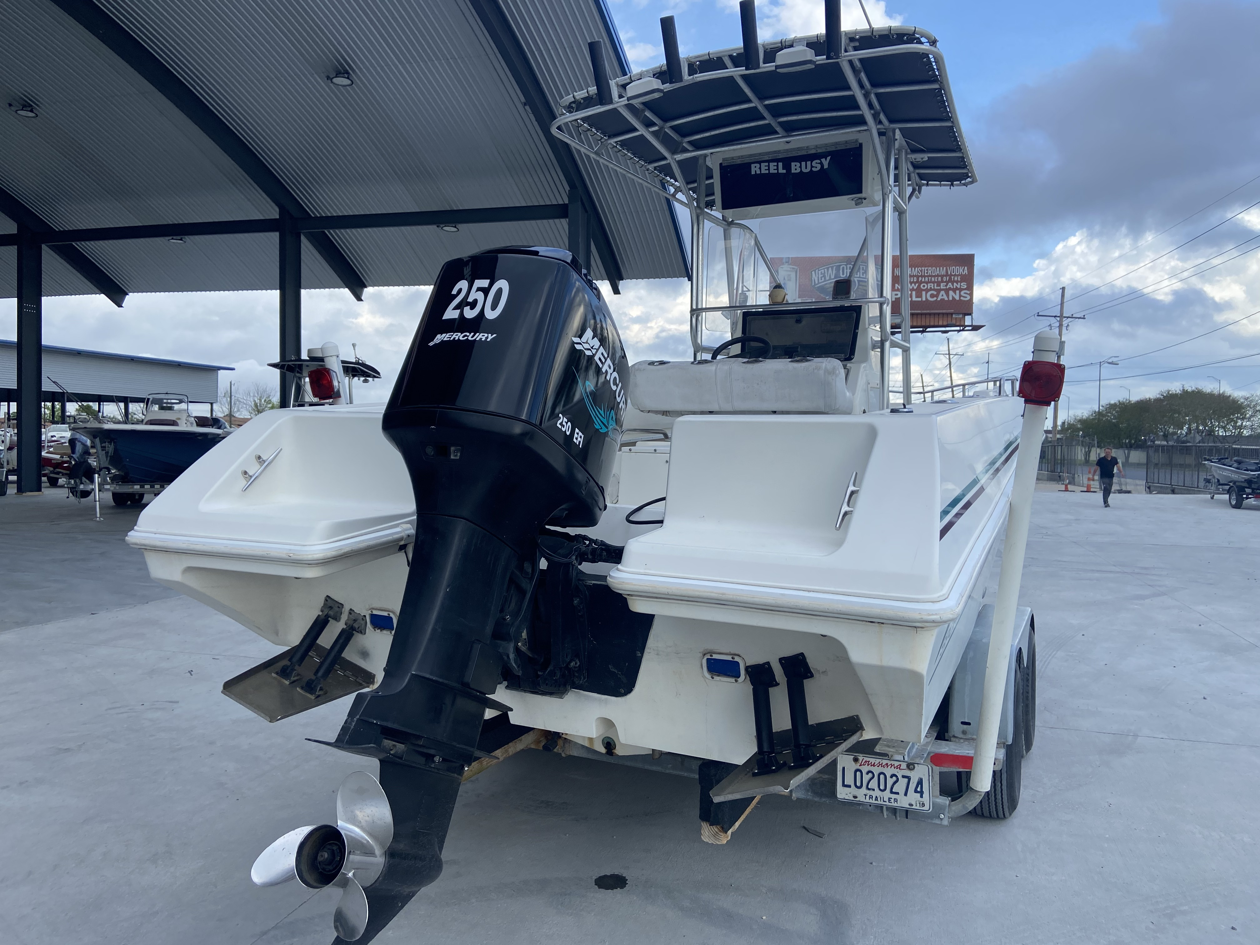 1998 Fountain boat for sale, model of the boat is 25 ft & Image # 3 of 7