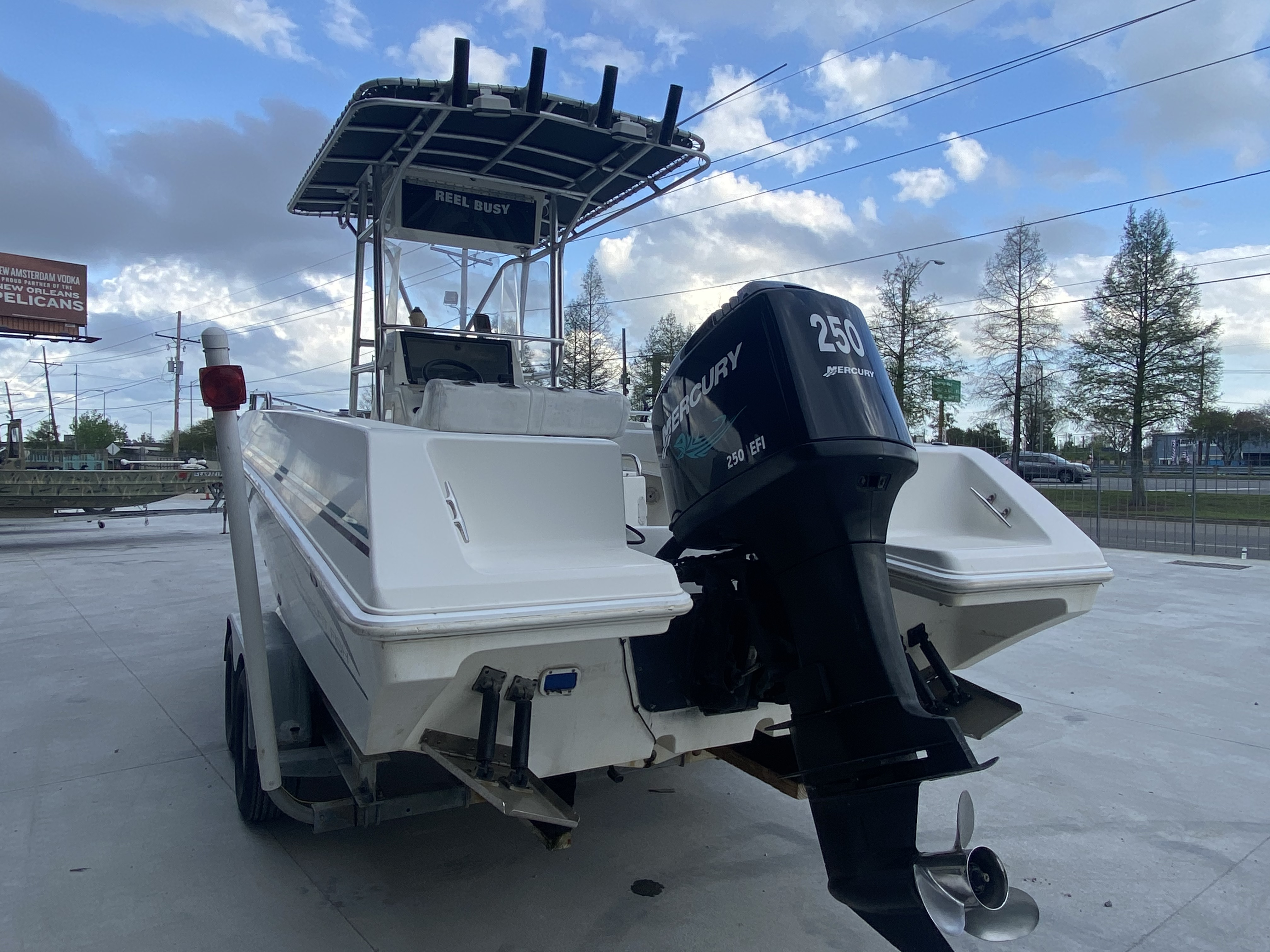 1998 Fountain boat for sale, model of the boat is 25 ft & Image # 6 of 7