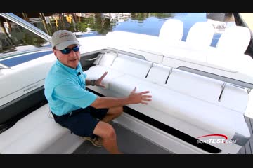 Formula 350 Crossover Bowrider video