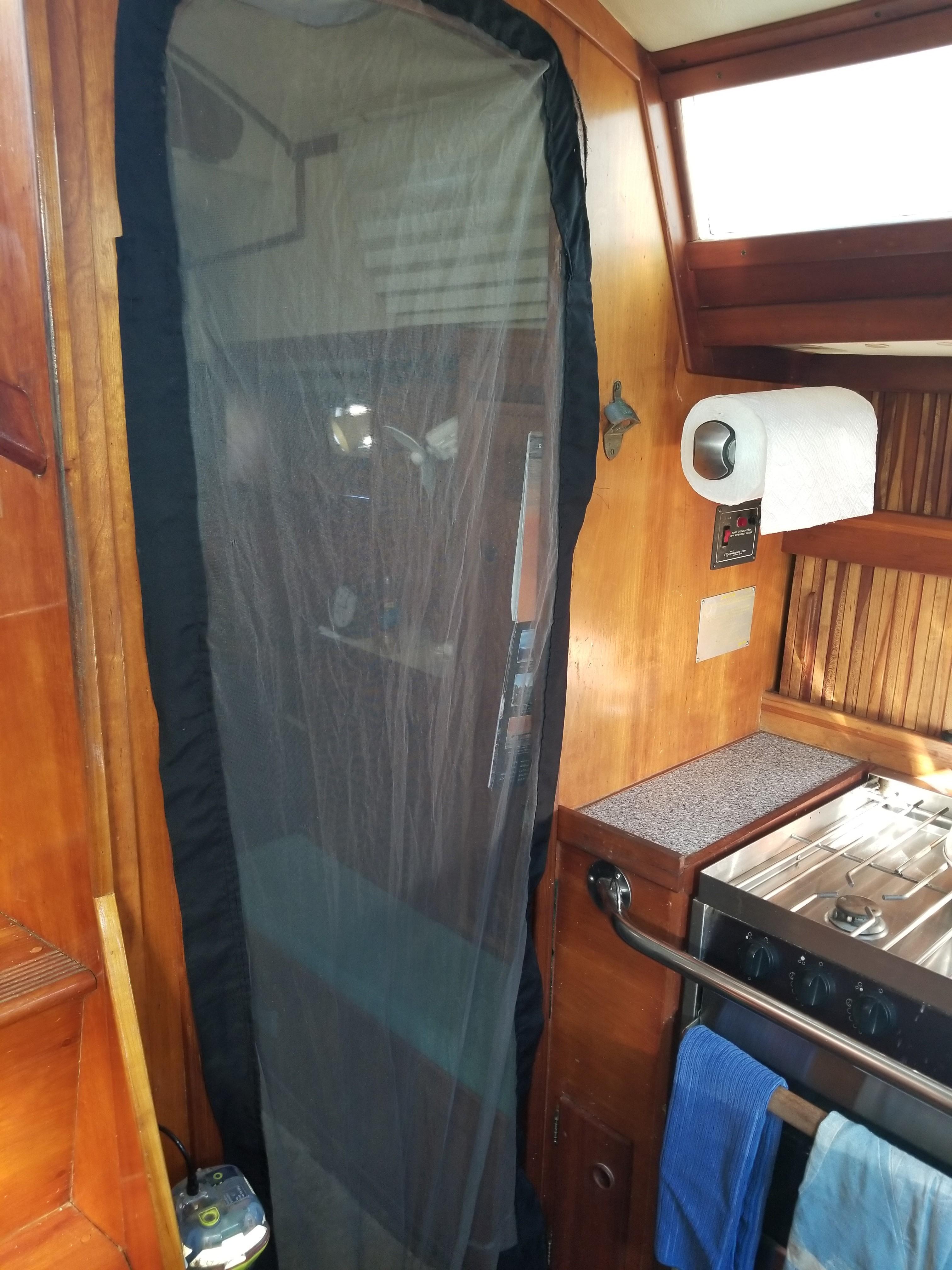Screen Door for Aft Cabin