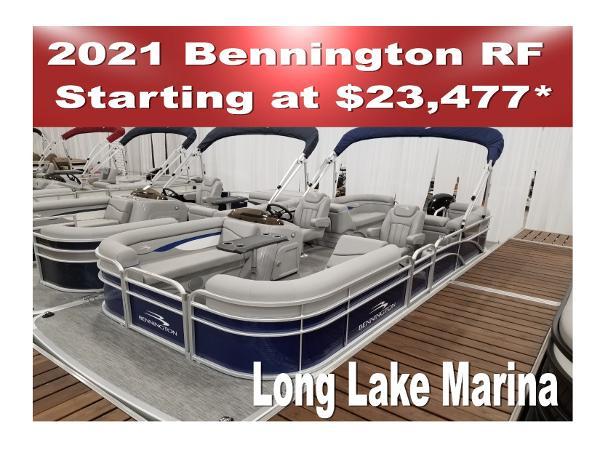 2021 Bennington 20 and 22' SVSR NOW IN STOCK thumbnail