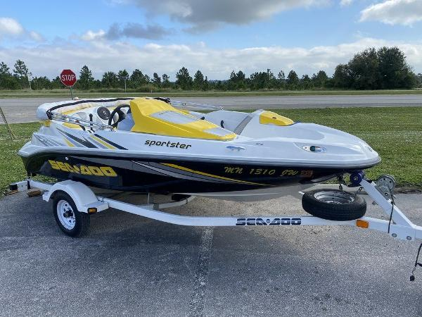 2005 Sea Doo PWC boat for sale, model of the boat is SPORTSTER 215HP & Image # 1 of 7