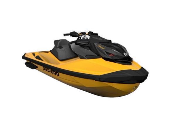 2021 Sea-Doo RXP-X 300 IBR & Sound System Millenium Yellow