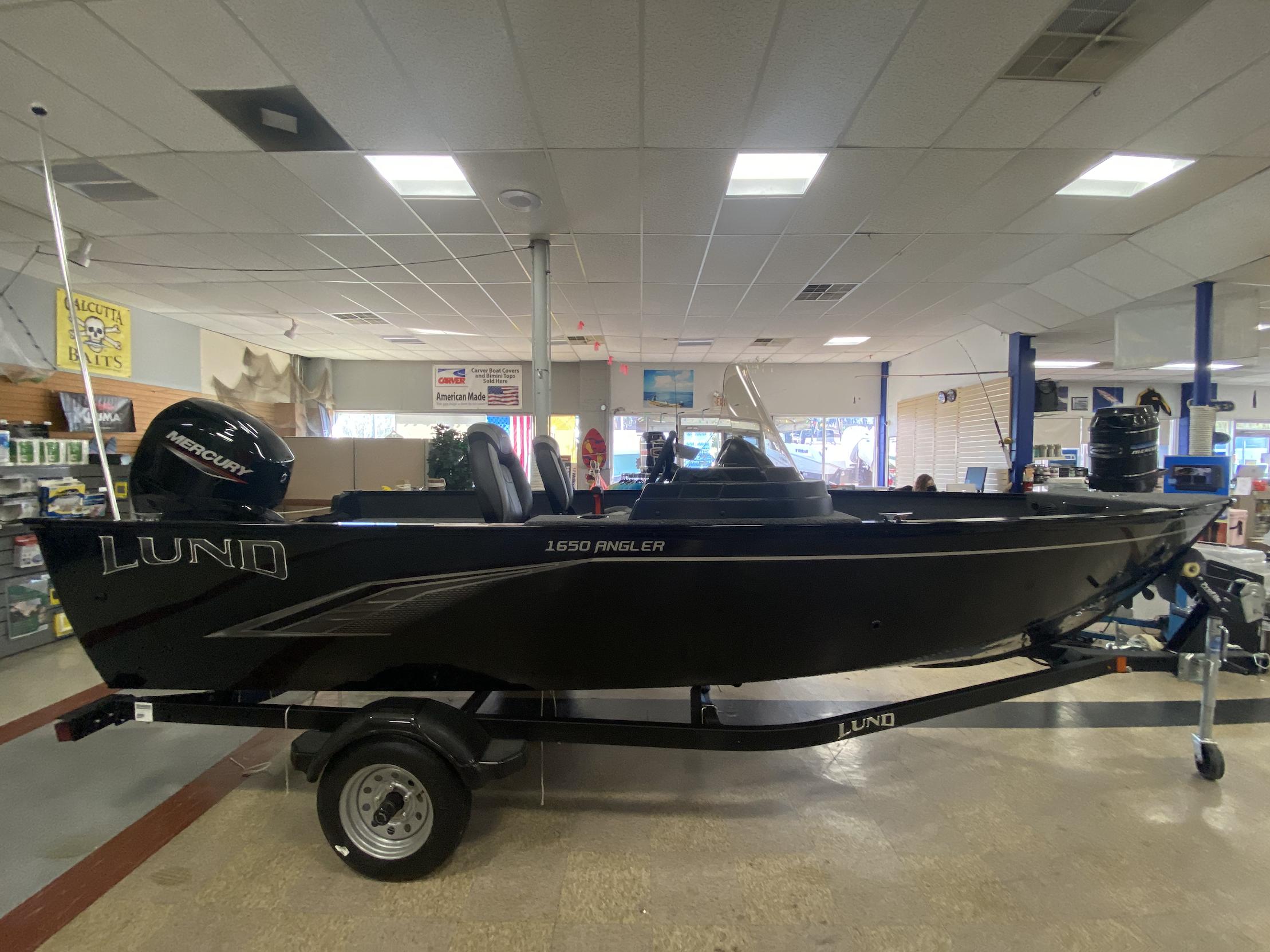2020 Lund 1650 Angler SS