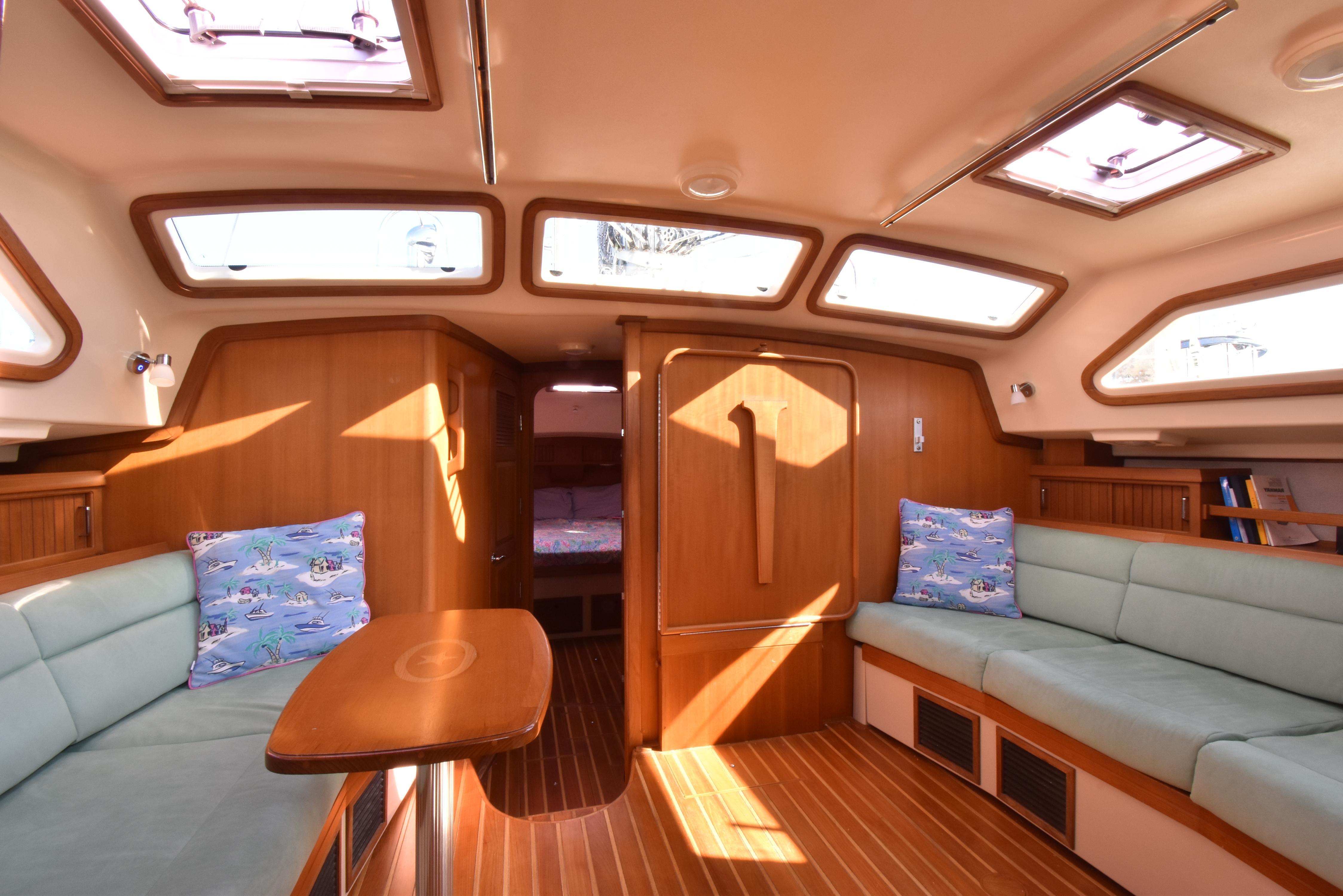 new UltraSuede interior