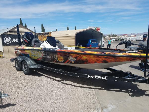 2016 Nitro boat for sale, model of the boat is Z-21 & Image # 7 of 14