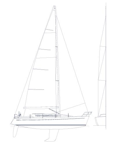 Manufacturer Provided Image: Sail Plan
