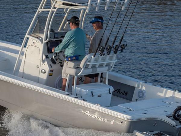 2021 Avenger boat for sale, model of the boat is AV26 & Image # 12 of 20