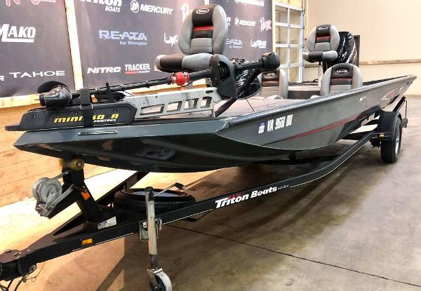 2014 Triton boat for sale, model of the boat is 18 TX & Image # 18 of 18
