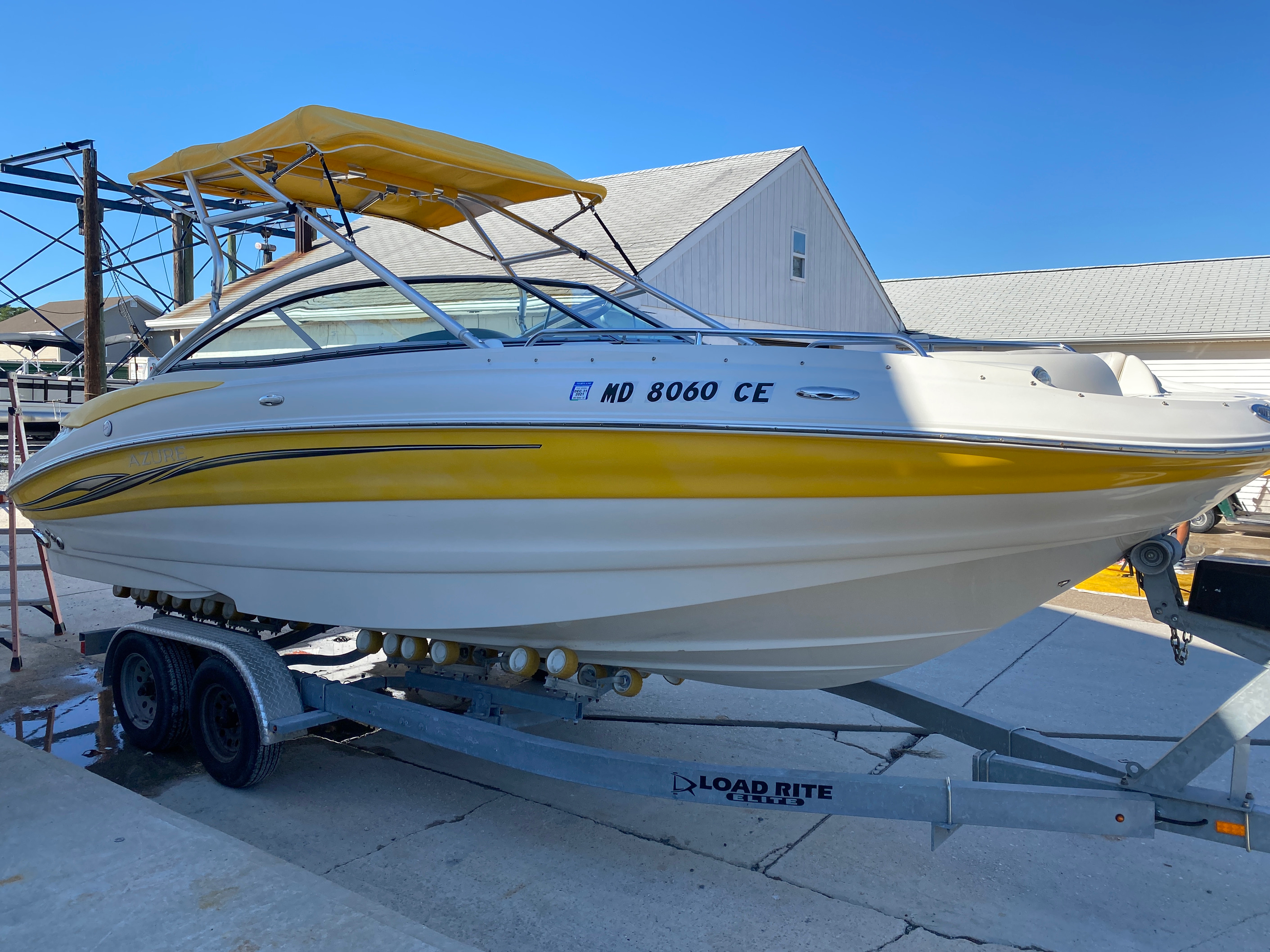 2008 Azure boat for sale, model of the boat is AZ 240 & Image # 1 of 18