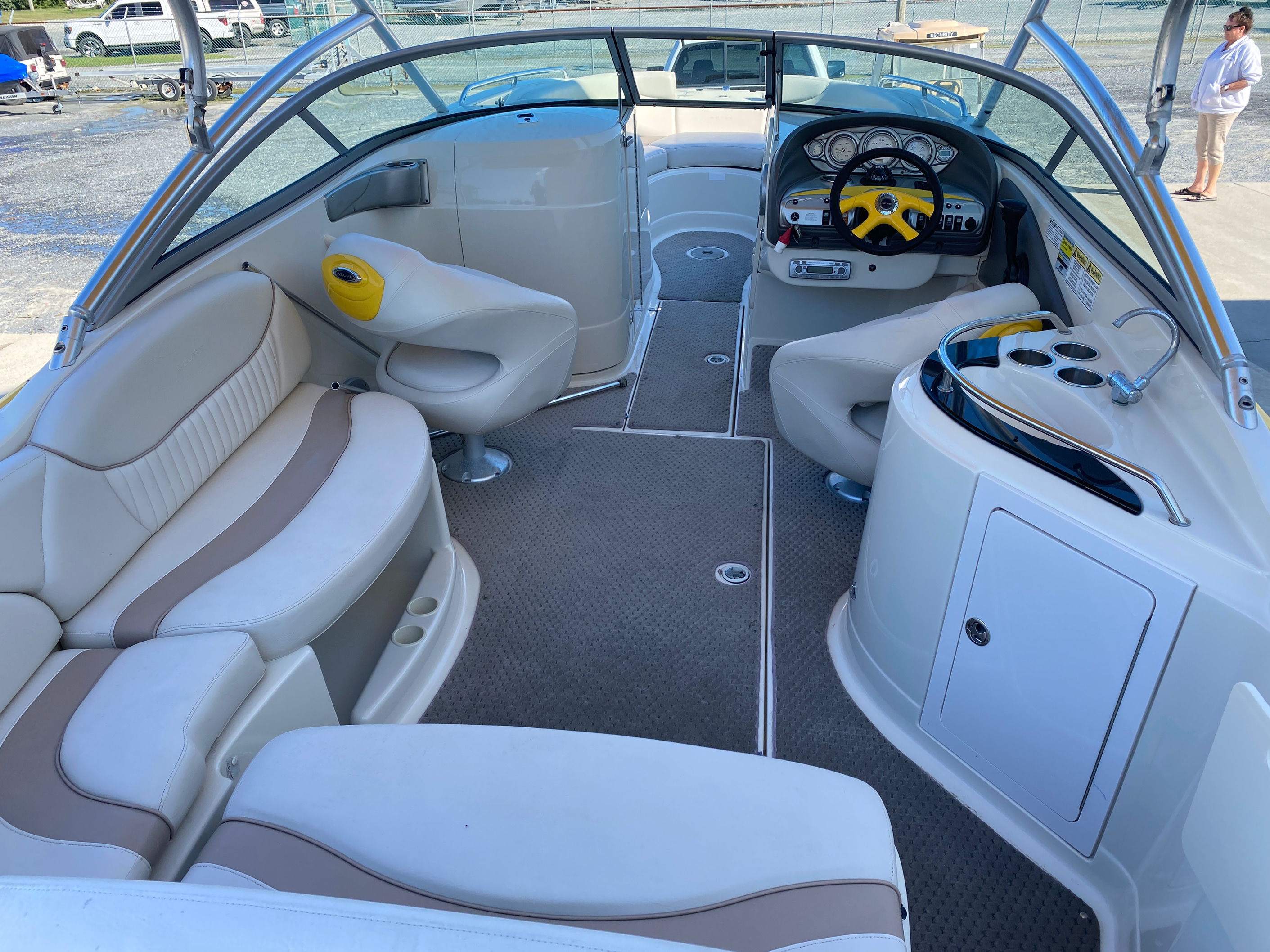 2008 Azure boat for sale, model of the boat is AZ 240 & Image # 3 of 18