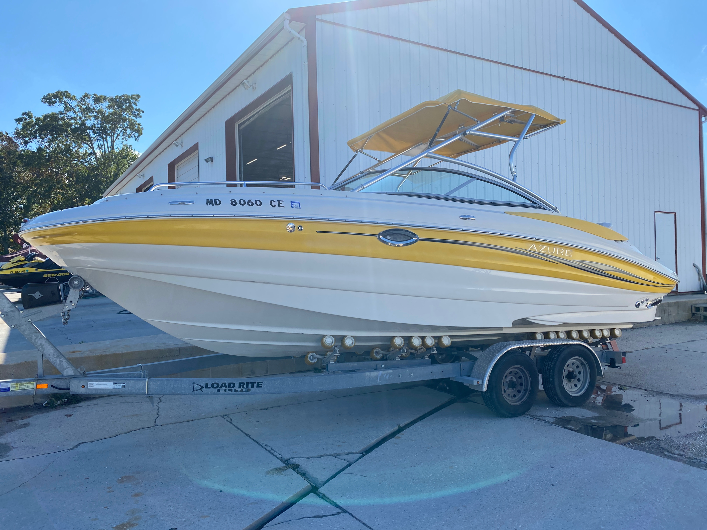 2008 Azure boat for sale, model of the boat is AZ 240 & Image # 17 of 18