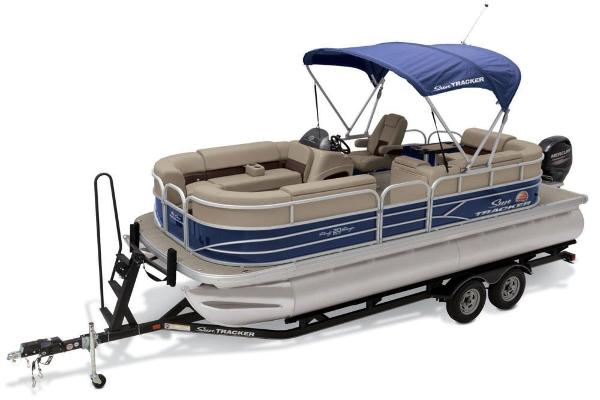 2019 Sun Tracker boat for sale, model of the boat is Party Barge 20 DLX & Image # 13 of 19