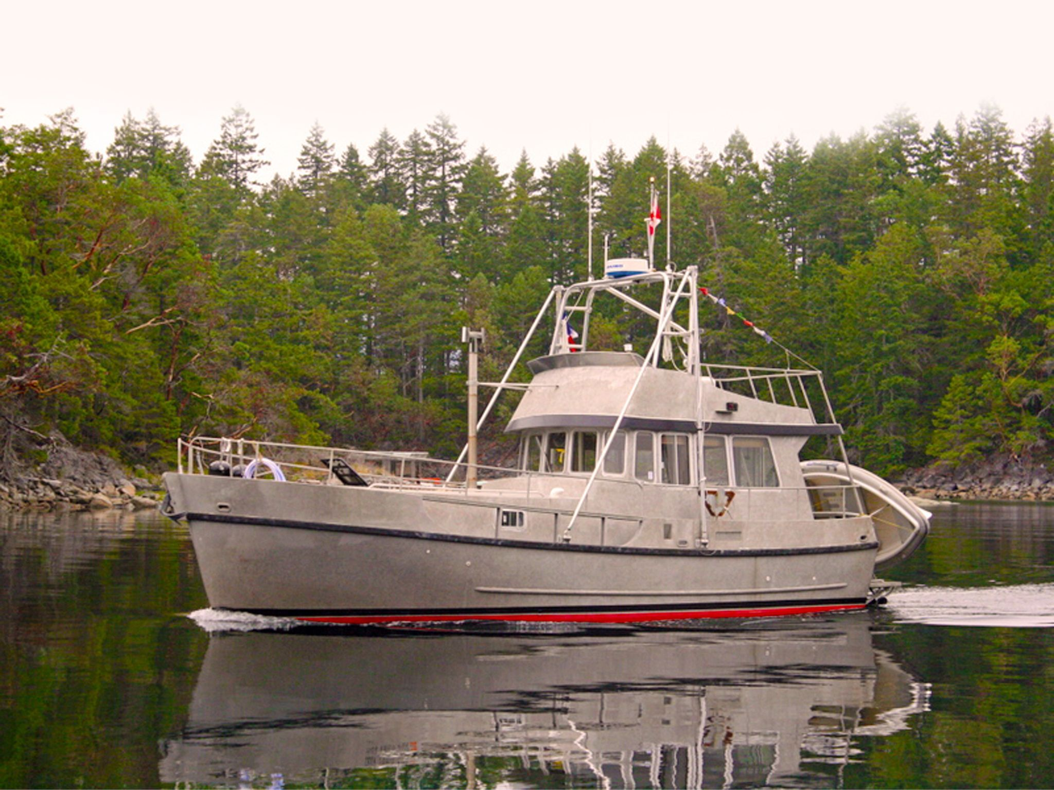 1986 CAMANO 36 Camano Trawler