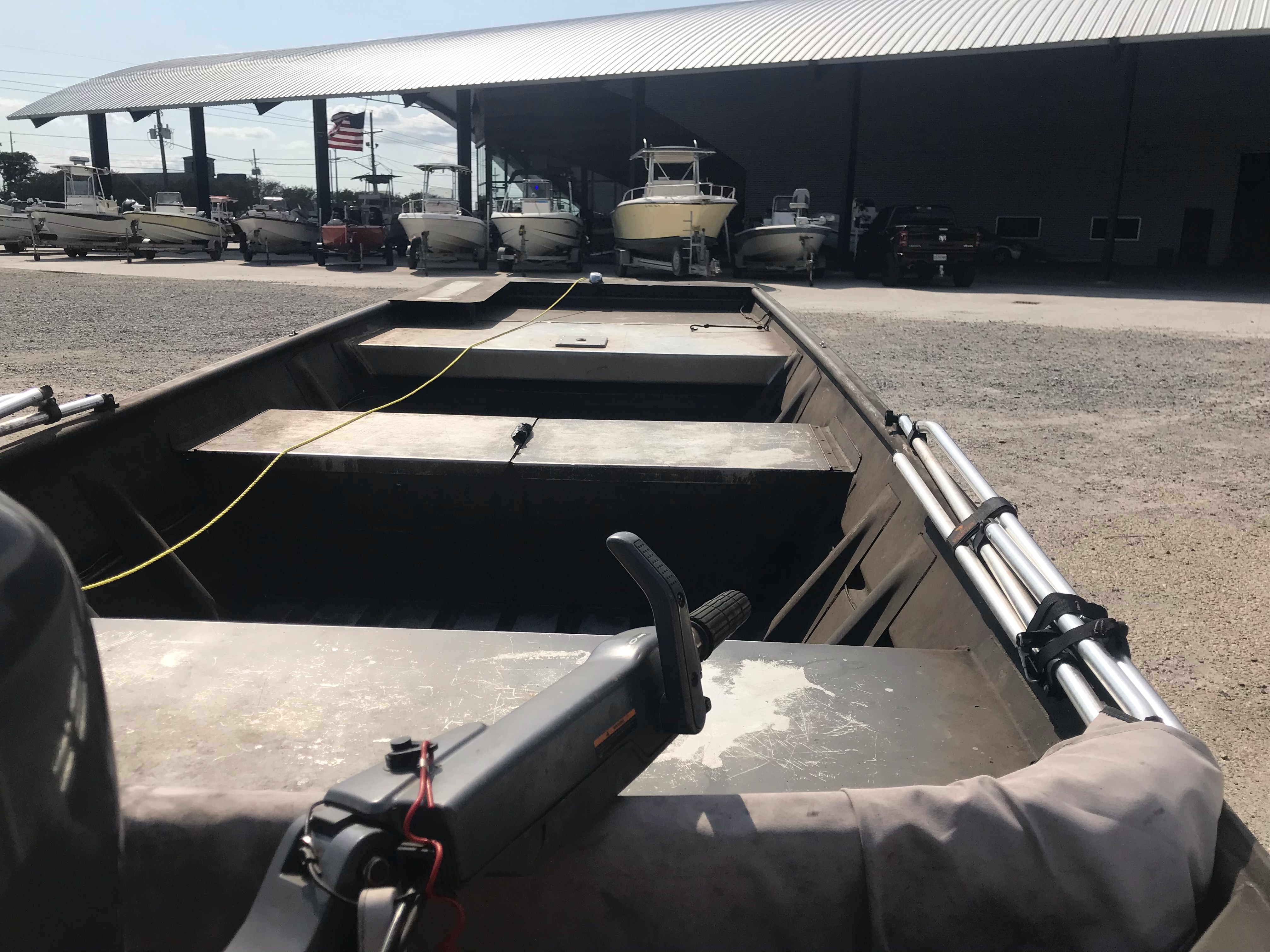 2001 Weld-Craft boat for sale, model of the boat is 14ft & Image # 3 of 7