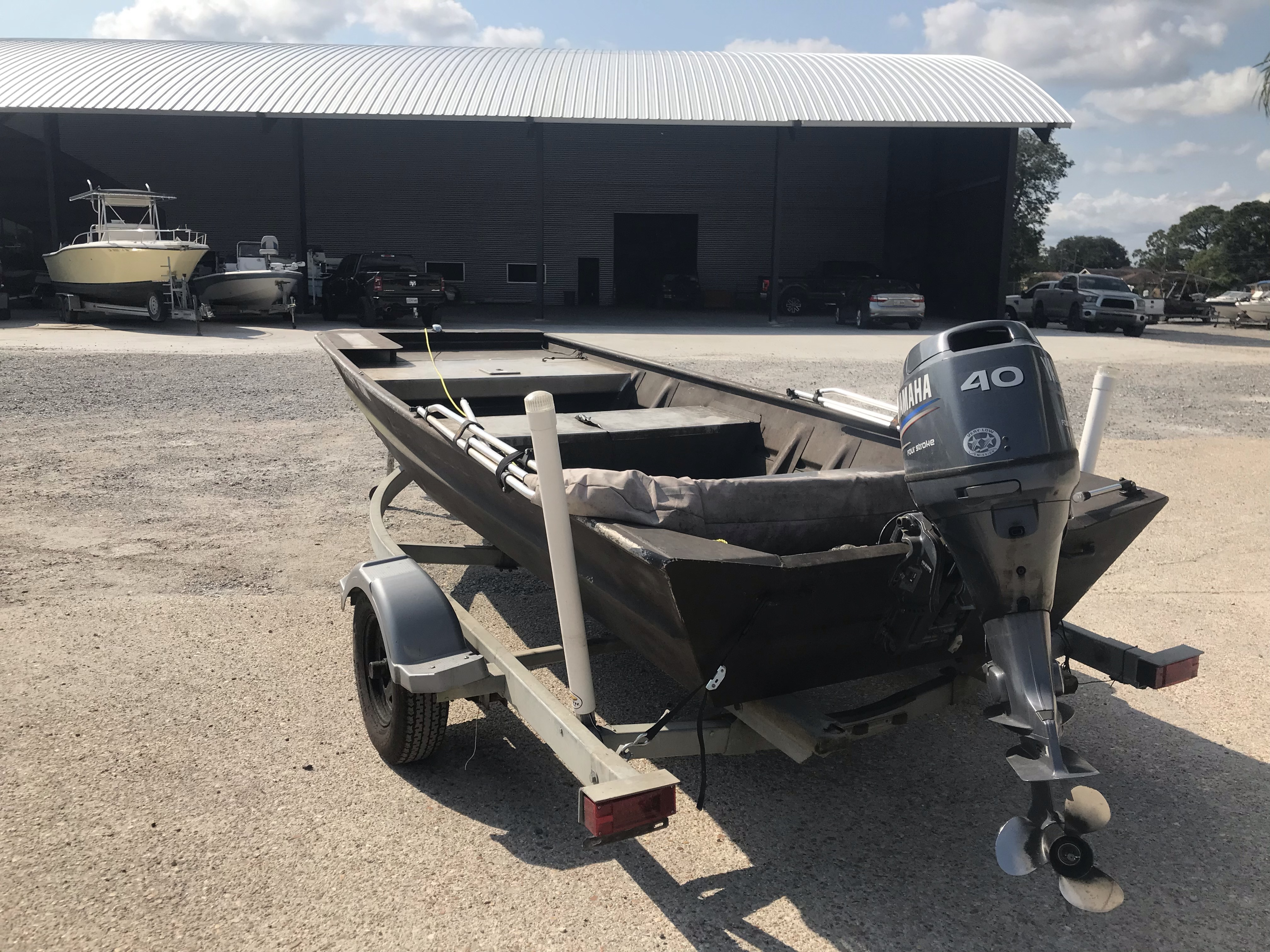 2001 Weld-Craft boat for sale, model of the boat is 14ft & Image # 5 of 7