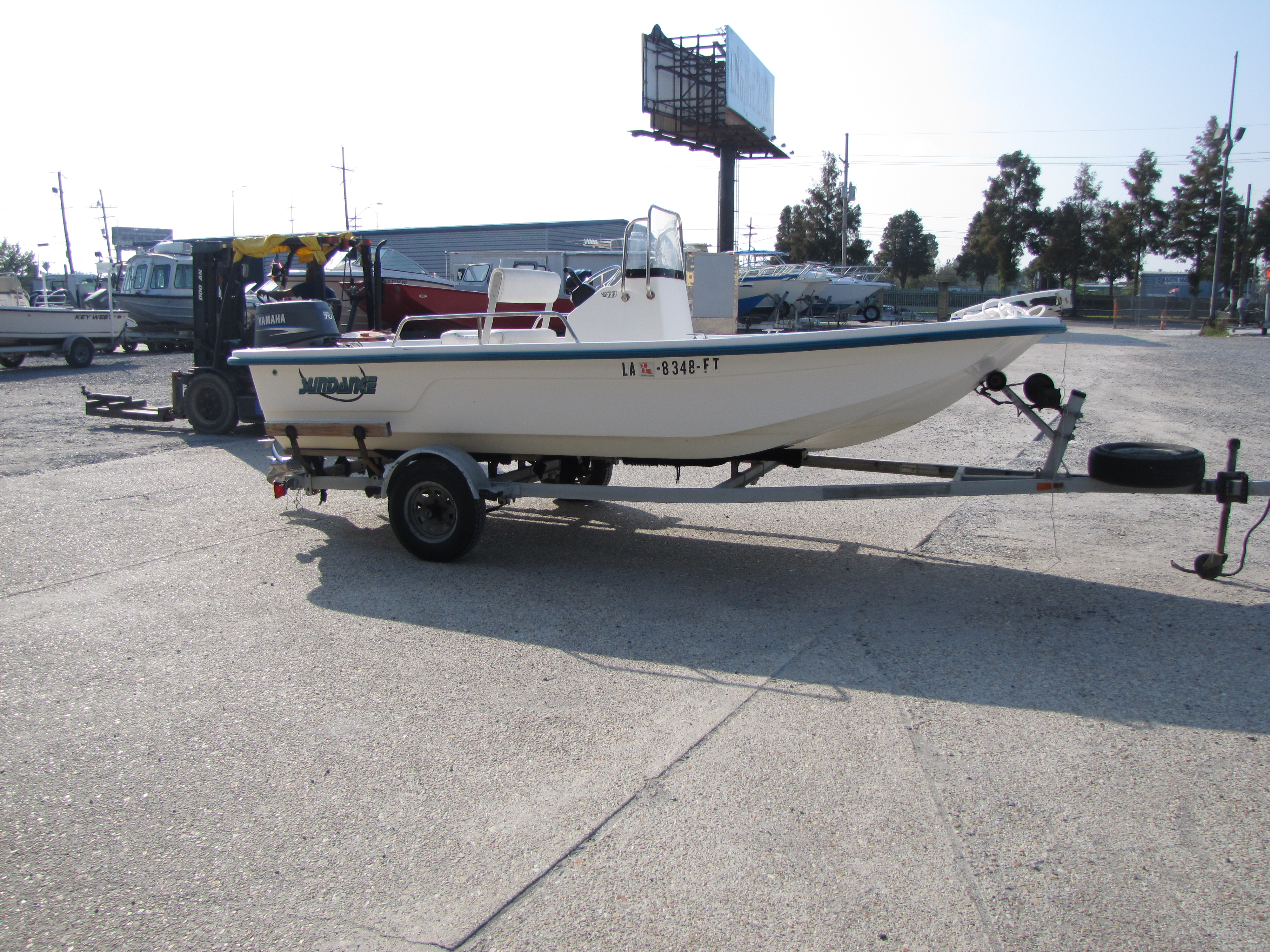 2009 Sundance boat for sale, model of the boat is 17 cc & Image # 2 of 15