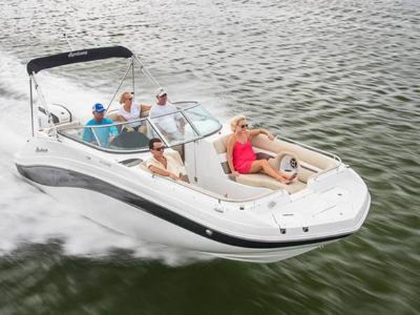 2021 Hurricane boat for sale, model of the boat is SunDeck 2486 OB & Image # 1 of 1