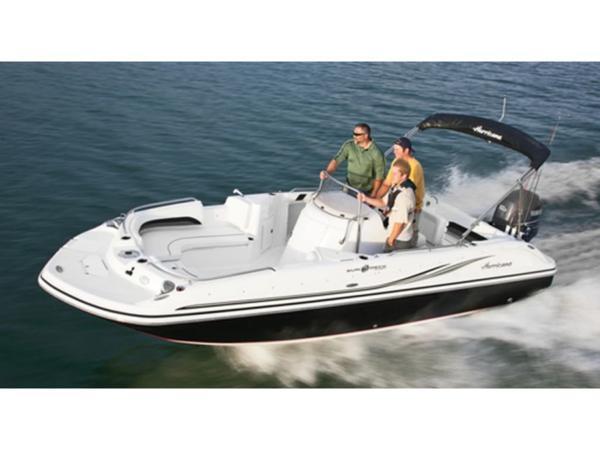 2021 Hurricane boat for sale, model of the boat is SunDeck Sport 211 OB & Image # 1 of 1