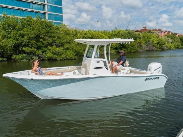 2021 Sea Pro boat for sale, model of the boat is 239 DLX & Image # 1 of 4