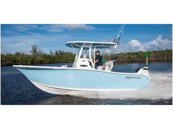 2021 Sea Pro boat for sale, model of the boat is 239 DLX & Image # 2 of 4