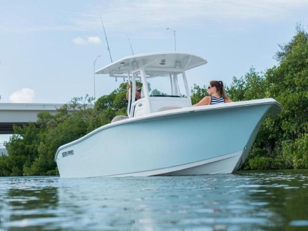 2021 Sea Pro boat for sale, model of the boat is 239 DLX & Image # 3 of 4