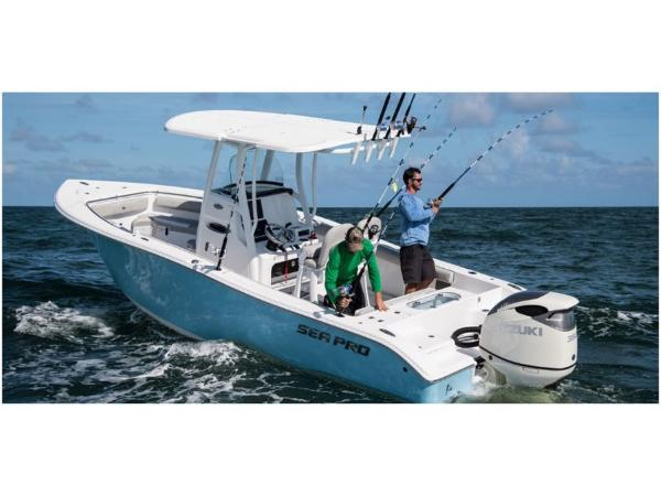 2021 Sea Pro boat for sale, model of the boat is 239 DLX & Image # 4 of 4