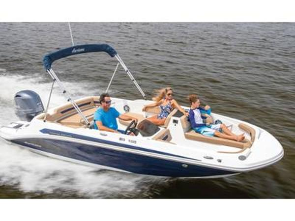 2021 Hurricane boat for sale, model of the boat is SunDeck Sport 185 OB & Image # 1 of 1