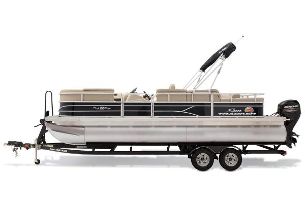 2019 Sun Tracker boat for sale, model of the boat is Party Barge 22 RF DLX & Image # 23 of 28