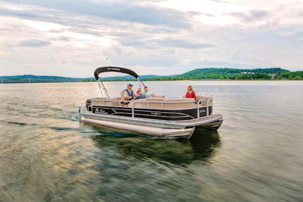 2019 Sun Tracker boat for sale, model of the boat is Party Barge 22 RF DLX & Image # 6 of 28