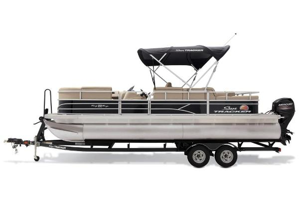2019 Sun Tracker boat for sale, model of the boat is Party Barge 22 RF DLX & Image # 24 of 28
