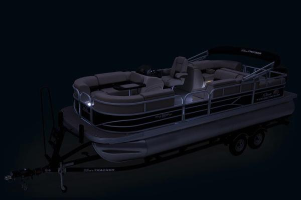 2019 Sun Tracker boat for sale, model of the boat is Party Barge 22 RF DLX & Image # 27 of 28