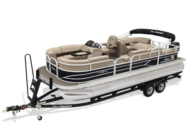 2019 Sun Tracker boat for sale, model of the boat is Party Barge 22 RF DLX & Image # 1 of 28