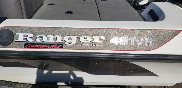 1997 Ranger Boats boat for sale, model of the boat is 481VS & Image # 4 of 4