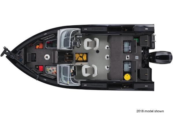 2019 Tracker Boats boat for sale, model of the boat is Targa V-19 Combo Tournament Edition & Image # 6 of 10