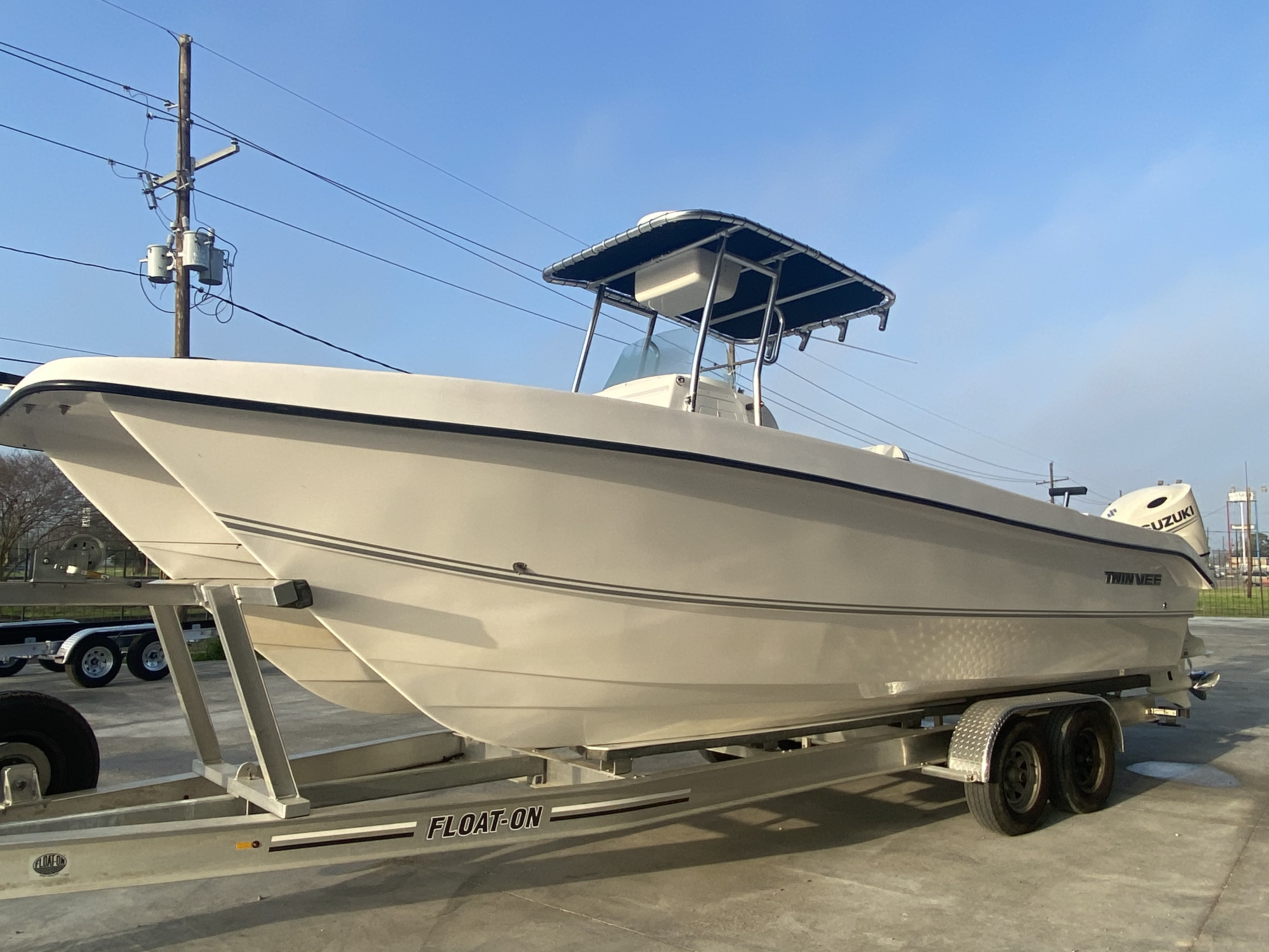 2020 Twin Vee boat for sale, model of the boat is 26 Pro & Image # 3 of 24