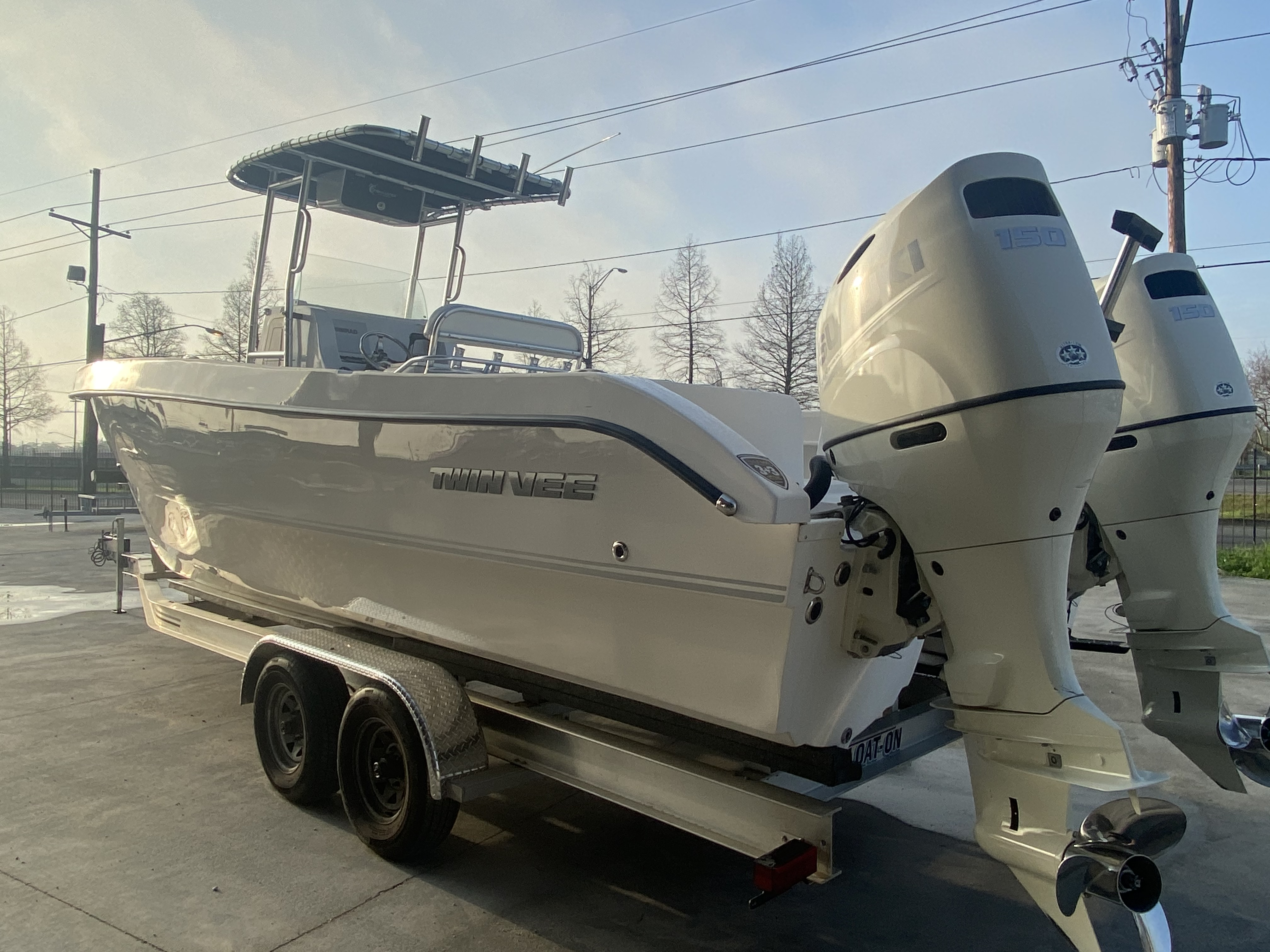2020 Twin Vee boat for sale, model of the boat is 26 Pro & Image # 12 of 24