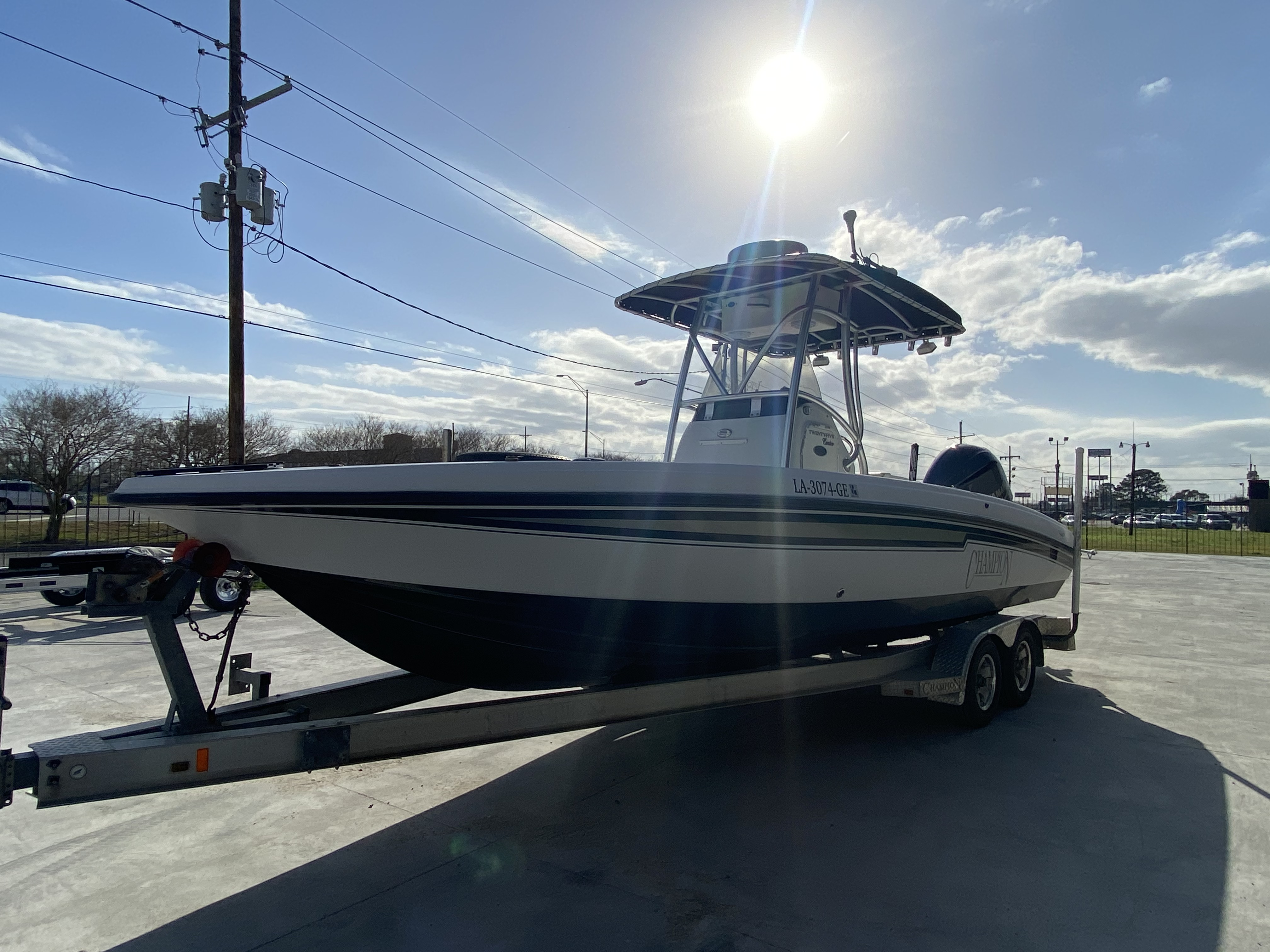 2010 Champion boat for sale, model of the boat is 25 BAY & Image # 23 of 25