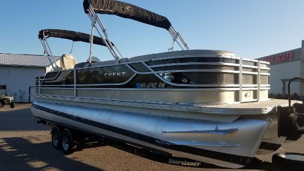 2012 Crest boat for sale, model of the boat is 250SLR Caribbean & Image # 7 of 24