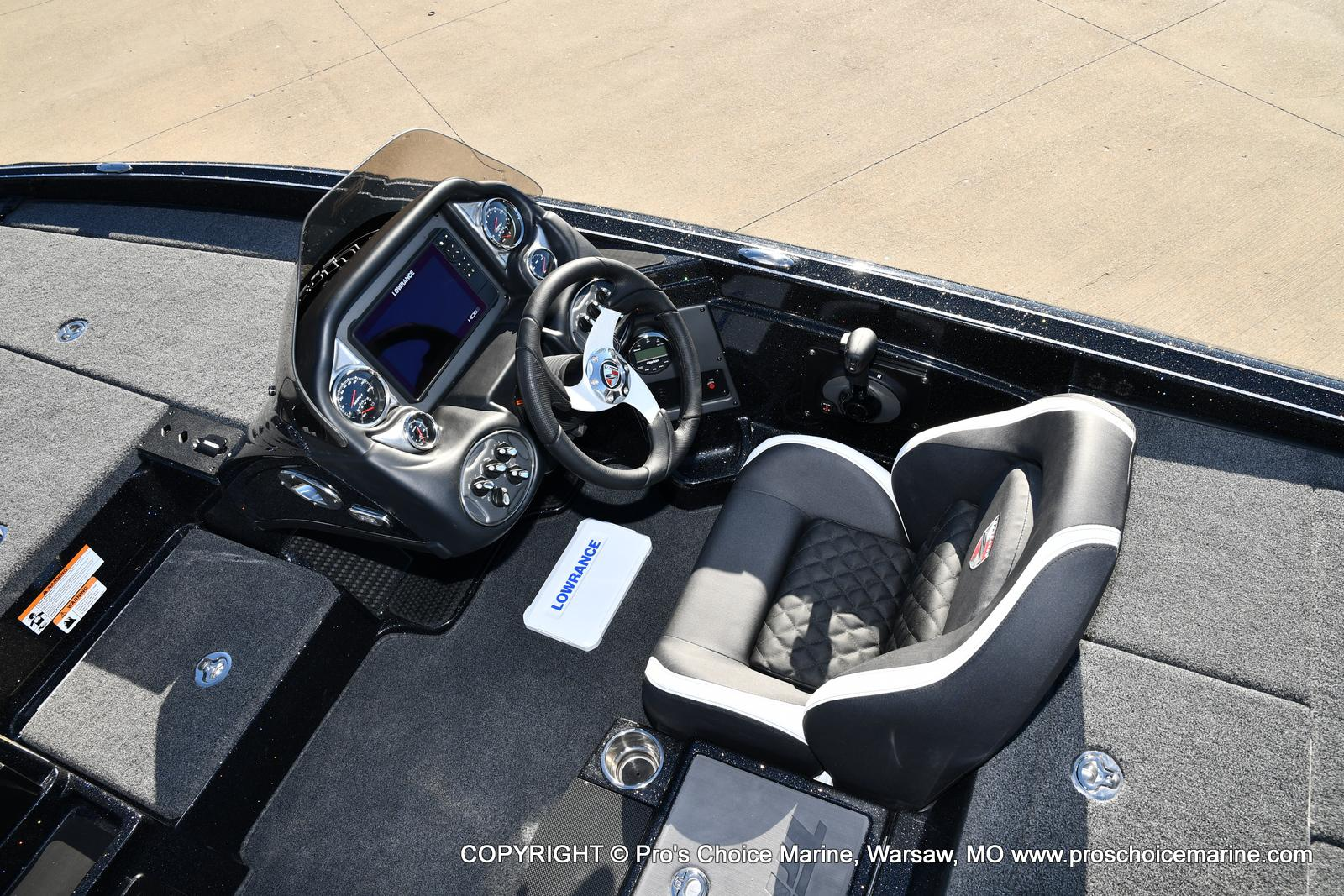 2021 Triton boat for sale, model of the boat is 19 TRX PATRIOT w/225HP PRO-XS & Image # 11 of 50