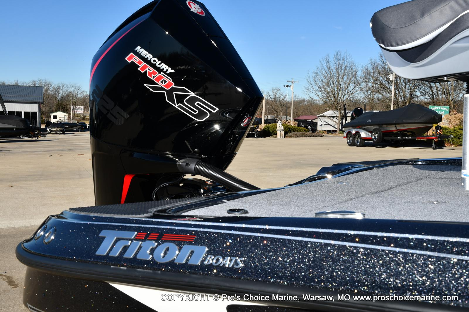 2021 Triton boat for sale, model of the boat is 19 TRX PATRIOT w/225HP PRO-XS & Image # 32 of 50
