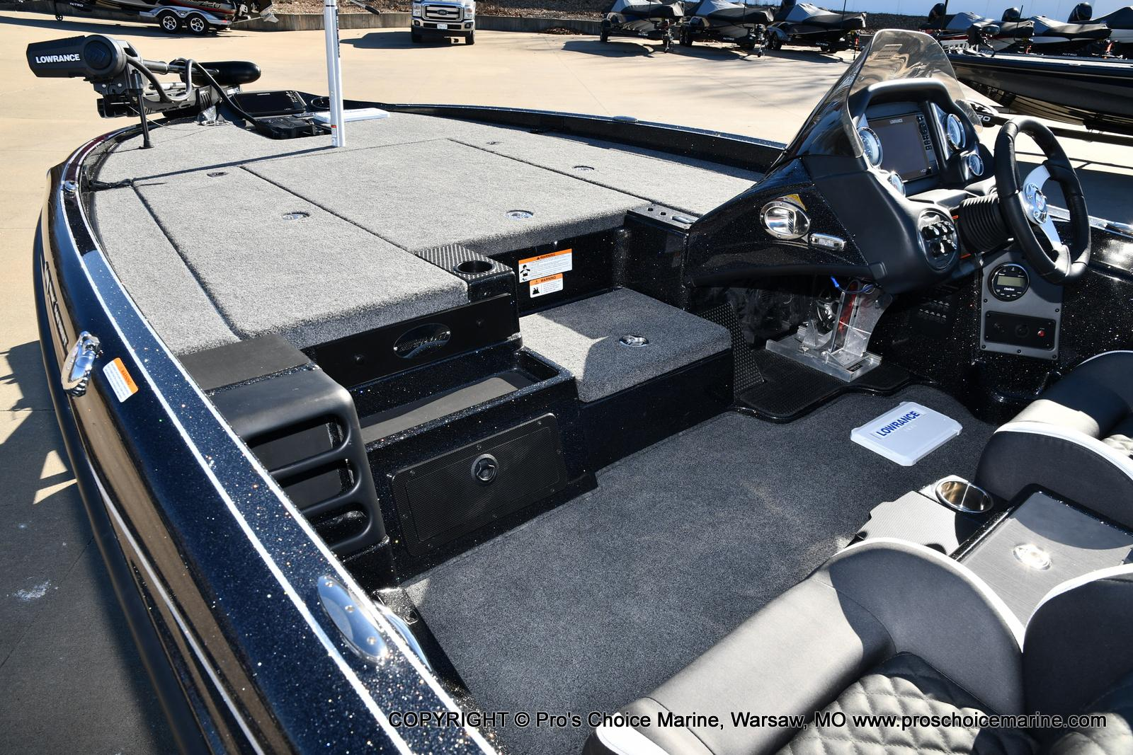2021 Triton boat for sale, model of the boat is 19 TRX PATRIOT w/225HP PRO-XS & Image # 35 of 50