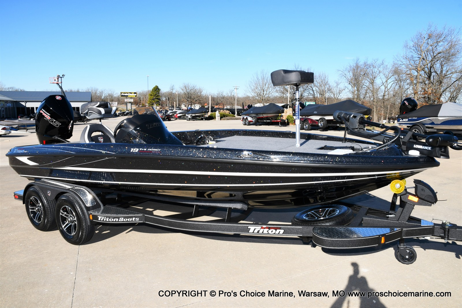 2021 Triton boat for sale, model of the boat is 19 TRX PATRIOT w/225HP PRO-XS & Image # 30 of 50