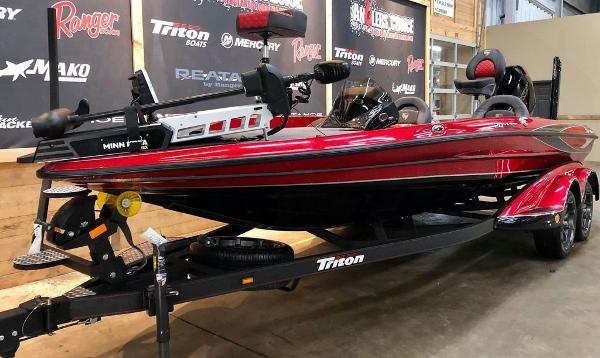 2021 Triton boat for sale, model of the boat is 20 TRX Patriot & Image # 2 of 18