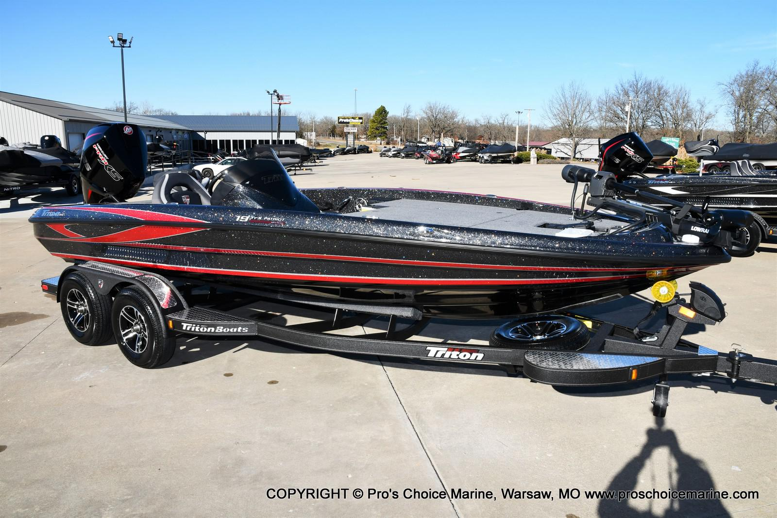 2021 Triton boat for sale, model of the boat is 19 TRX PATRIOT w/225HP PRO-XS & Image # 1 of 50