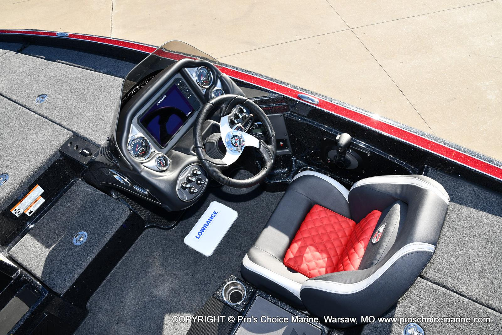 2021 Triton boat for sale, model of the boat is 19 TRX PATRIOT w/225HP PRO-XS & Image # 14 of 50