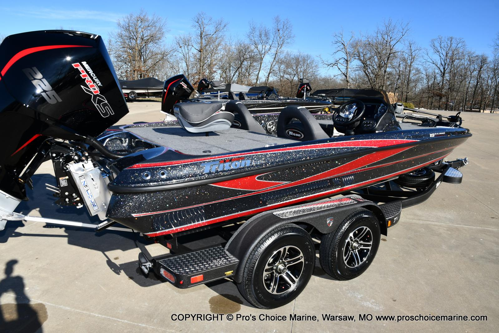 2021 Triton boat for sale, model of the boat is 19 TRX PATRIOT w/225HP PRO-XS & Image # 39 of 50
